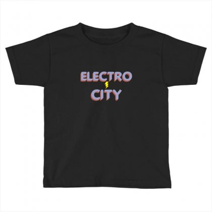 Electro City Toddler T-shirt Designed By Wisnuta1979