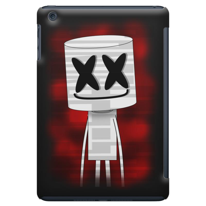 2bb2d9b00d0e46 Custom Marshmello Red Back Ipad Mini Case By Mdk Art - Artistshot
