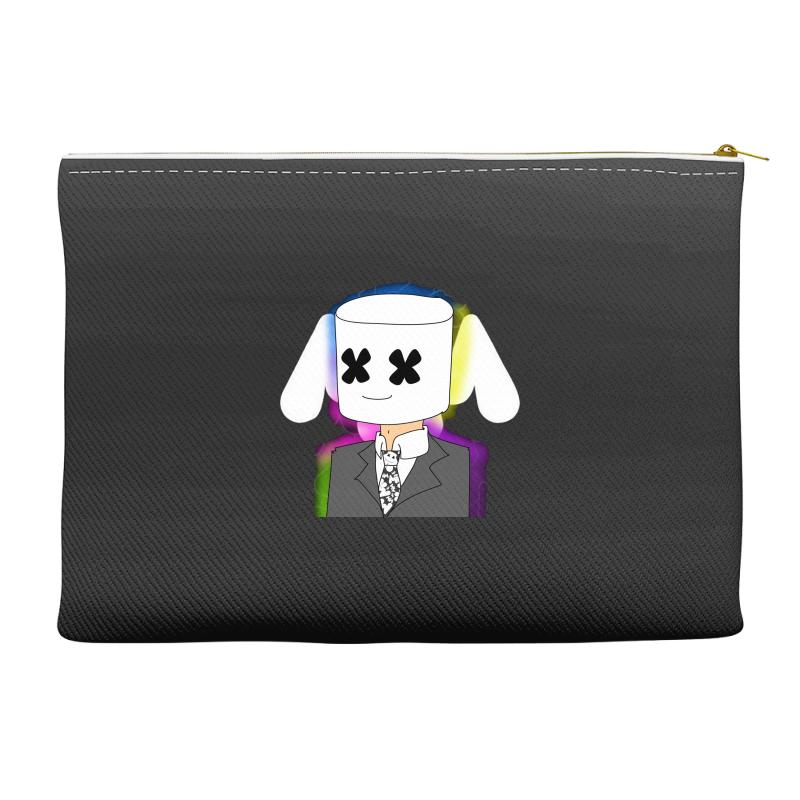 4335a046e5c4ad Custom Marshmello The Dj Accessory Pouches By Mdk Art - Artistshot