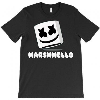 Marshmello Music Time T-shirt Designed By Mdk Art