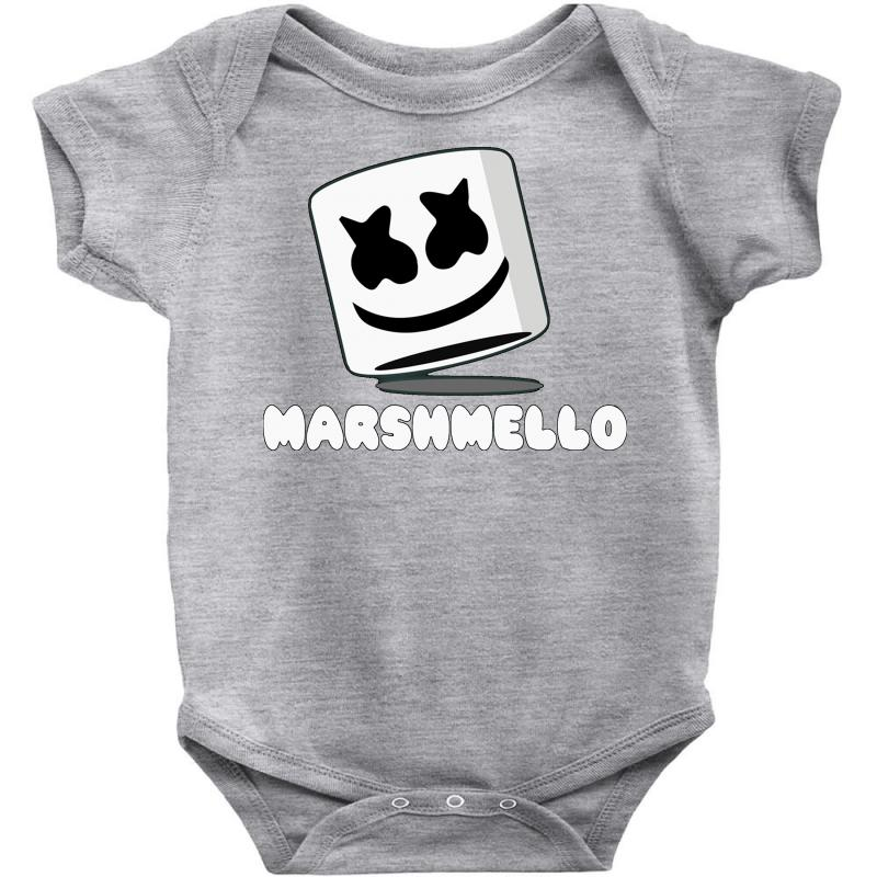 31204475704a76 Custom Marshmello Music Time Baby Bodysuit By Mdk Art - Artistshot