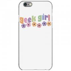 geek girl daisies iPhone 6/6s Case | Artistshot