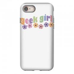 geek girl daisies iPhone 8 Case | Artistshot