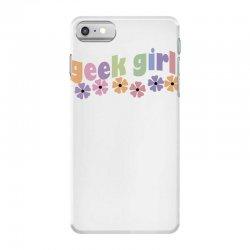 geek girl daisies iPhone 7 Case | Artistshot