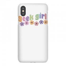 geek girl daisies iPhoneX Case | Artistshot