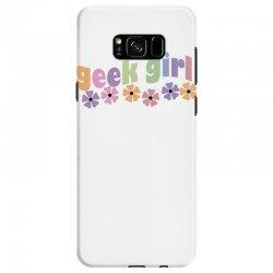 geek girl daisies Samsung Galaxy S8 Case | Artistshot