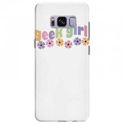 geek girl daisies Samsung Galaxy S8 Plus Case | Artistshot