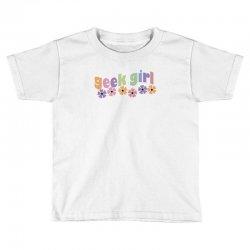 geek girl daisies Toddler T-shirt | Artistshot