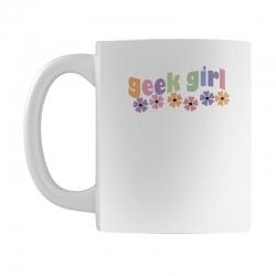 geek girl daisies Mug | Artistshot