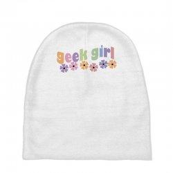 geek girl daisies Baby Beanies | Artistshot