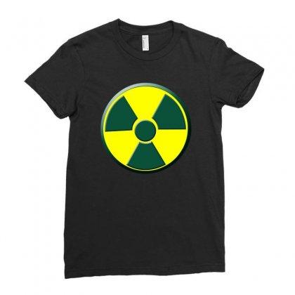Gamma Powered Ladies Fitted T-shirt Designed By Wisnuta1979