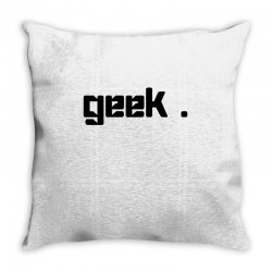 geek t shirt Throw Pillow | Artistshot