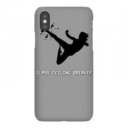 geek girl glass ceiling breaker iPhoneX Case | Artistshot