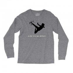 geek girl glass ceiling breaker Long Sleeve Shirts | Artistshot