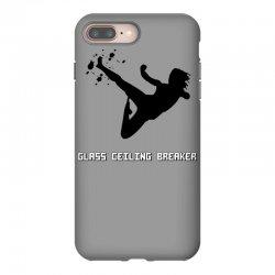 geek girl glass ceiling breaker iPhone 8 Plus Case | Artistshot