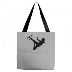 geek girl glass ceiling breaker Tote Bags | Artistshot