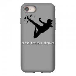 geek girl glass ceiling breaker iPhone 8 Case | Artistshot