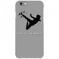 geek girl glass ceiling breaker iPhone 6/6s Case | Artistshot