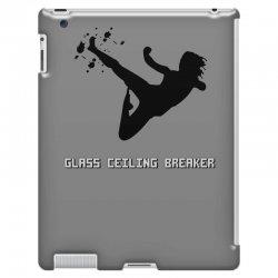 geek girl glass ceiling breaker iPad 3 and 4 Case | Artistshot