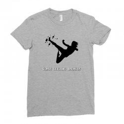 geek girl glass ceiling breaker Ladies Fitted T-Shirt | Artistshot