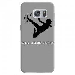 geek girl glass ceiling breaker Samsung Galaxy S7 Case | Artistshot