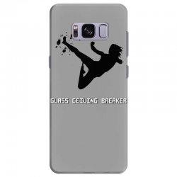 geek girl glass ceiling breaker Samsung Galaxy S8 Plus Case | Artistshot