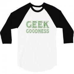 geek goddess kelly green 3/4 Sleeve Shirt | Artistshot