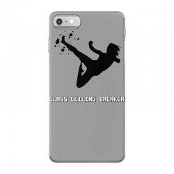 geek girl glass ceiling breaker iPhone 7 Case | Artistshot