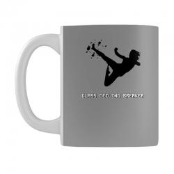 geek girl glass ceiling breaker Mug | Artistshot