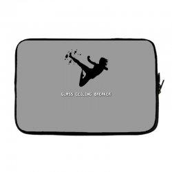 geek girl glass ceiling breaker Laptop sleeve | Artistshot