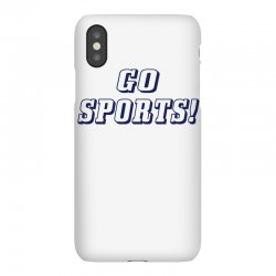 go sports! iPhoneX Case | Artistshot