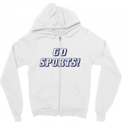 go sports! Zipper Hoodie | Artistshot
