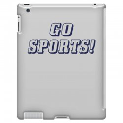 go sports! iPad 3 and 4 Case | Artistshot