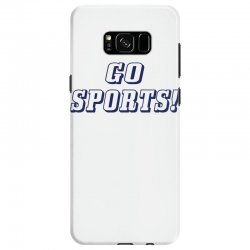 go sports! Samsung Galaxy S8 Case | Artistshot
