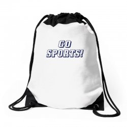go sports! Drawstring Bags | Artistshot