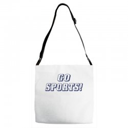 go sports! Adjustable Strap Totes | Artistshot