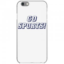 go sports! iPhone 6/6s Case | Artistshot