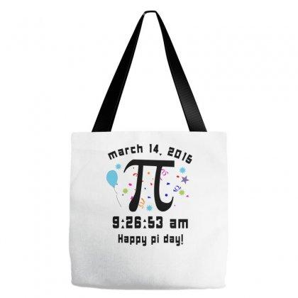 Happy Pi Day Tote Bags Designed By Wisnuta1979