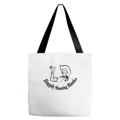 Happily Shooting Blanks Tote Bags Designed By Wisnuta1979