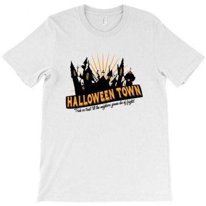 Halloween Town T-shirt Designed By Wisnuta1979