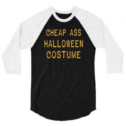 Halloween Costume 3/4 Sleeve Shirt Designed By Wisnuta1979