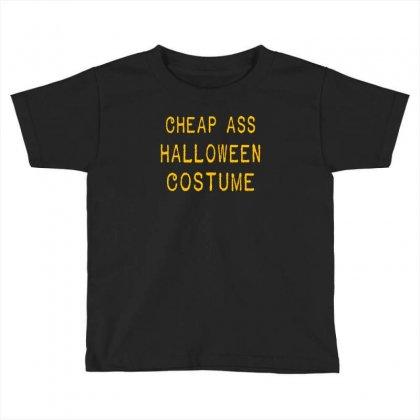 Halloween Costume Toddler T-shirt Designed By Wisnuta1979