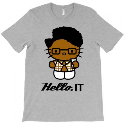 Hello, It T-shirt Designed By Wisnuta1979