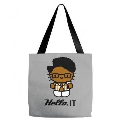 Hello, It Tote Bags Designed By Wisnuta1979