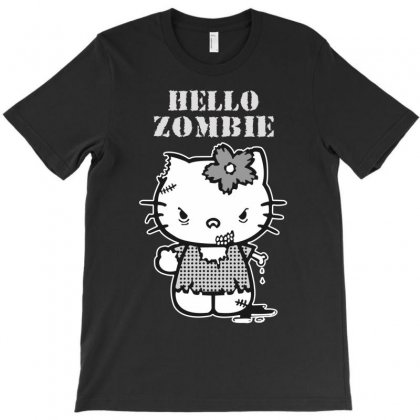Hello Zombie T-shirt Designed By Wisnuta1979