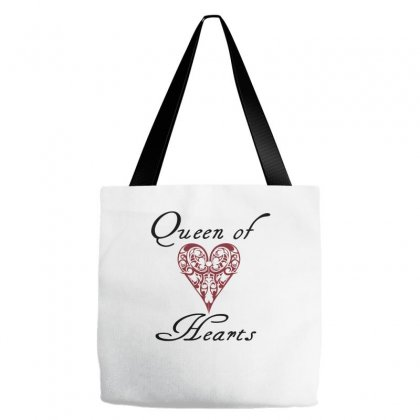 Hearts Queen Of Hearts Tote Bags Designed By Wisnuta1979