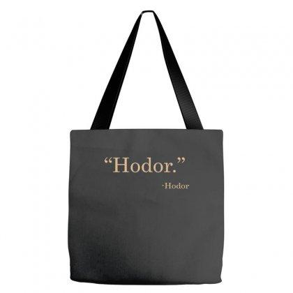 Hodor Tote Bags Designed By Wisnuta1979