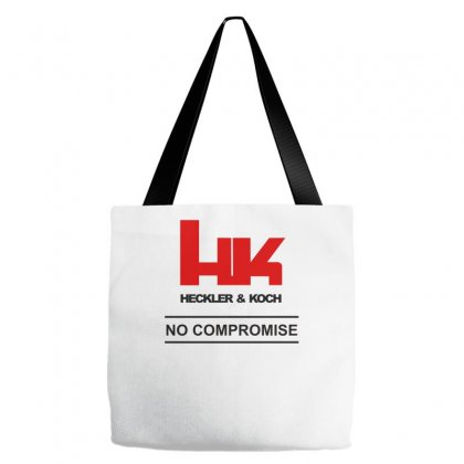 Hk Logo Heckler & Koch Firearms No Compromise, Tote Bags Designed By Wisnuta1979