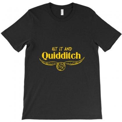 Hit It And Quidditch T-shirt Designed By Wisnuta1979