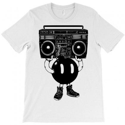 Boom Box T-shirt Designed By Sbm052017
